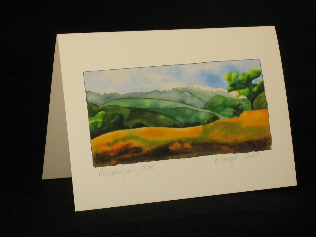 Card-Himalayan Hills good