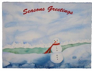 Snowman1-seasons greetings-web