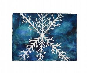 snowflake-white bkg